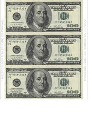 100 dollar bill template us currency printable pdf download