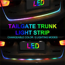 Auto Led Light Strips Car Tailgate Flow Led Light U2013 Toogood
