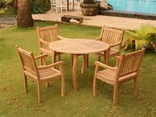teak outdoor furniture ebay