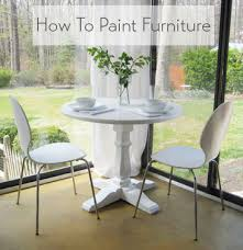 How To Paint Kitchen Table And Chairs by This Furniture Painting Tutorial Is Easy Just Follow Our Step By