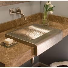 bathroom sinks drop in nickel tones grove supply inc