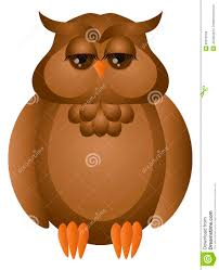 barred owl clipart cute cartoon pencil and in color barred owl