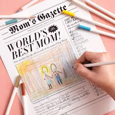 mother u0027s day newspaper martha stewart