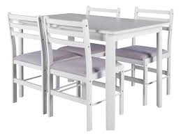 table avec 4 chaises ensemble table 4 chaises de cuisine wallas vente de ensemble
