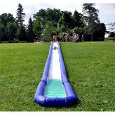 Backyard Slip N Slide Backyard Slides 8 Easy Affordable Kid Friendly Backyard Ideas Play