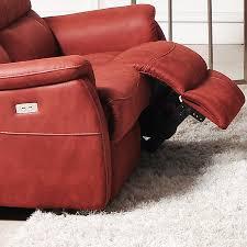 canapé 2 places relax cuir canape relax électrique 2 places en tissu sofamobili