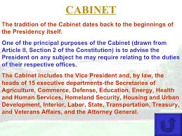 15 Cabinet Positions Govt Executive Branch Interactive
