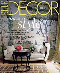 elle decor magazine u2013 price 4 50 with coupon code decor