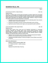 Sample Resume Of Registered Nurse by Rn Resumes Template Billybullock Us