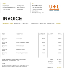 free rent invoice template commercial property rental blank word