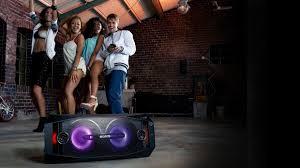 sony high powered bluetooth light up speaker gtk xb5 sony audio hi fi system with wireless music streaming pc world