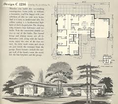 10 mid century home plans basement mid century ranch house plans