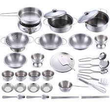 jeux de cuisine pour les enfants jeu de cuisine pour enfants ensemble de cuisine en acier inoxydable