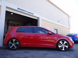volkswagen gti 2015 custom 2015 gti mk7 with h u0026r sport springs vfr auto blog