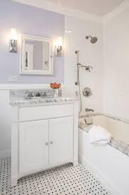 restoration hardware washstand transitional bathroom haus