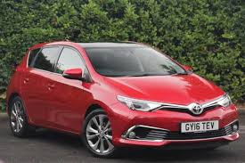 used toyota auris excel 1 6 cars for sale motors co uk