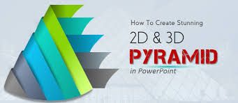 tutorial powerpoint design powerpoint tutorial 8 how to create a stunning 2d and 3d pyramid