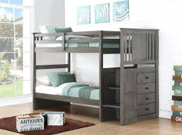 Crib And Bed Combo Loft Beds Loft Bed With Crib Underneath Grey Bunk Stairs