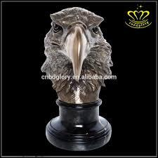 Sculpture For Home Decor by Handmade Elegant Cast Metal Brass Eagle Sculpture For Sale Home