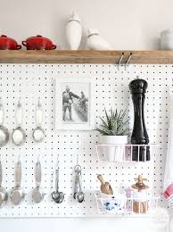 best 25 kitchen pegboard ideas on wall mounted