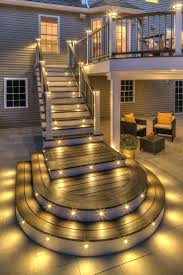 outdoor string lights for patio best deck lighting ideas on patio backyard string lights and