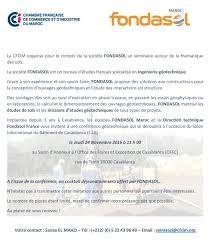 Bureau D Ude Batiment Casablanca Fondasol Au Maroc Pour Le Sib 2016 Et Le Forum Africain Des