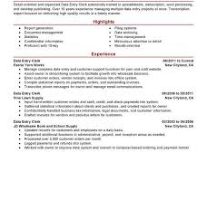 Data Entry Operator Resume Format Sample by Data Entry Resume Examples