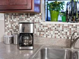 Interior Self Adhesive Backsplash Tiles Hgtv Backsplash Peel And - Lowes peel and stick backsplash
