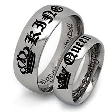 couples rings set images King and queen rings couples ring set his and hers jpg