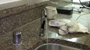 water filter kitchen faucet how to install an undersink water filter