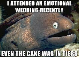 Wedding Cake Joke Bad Joke Eel Goes To A Wedding U2013 Beheading Boredom