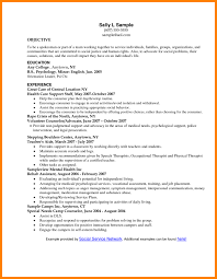 Social Work Resume Objective Examples by 8 Resume Objective Statements Statement Information
