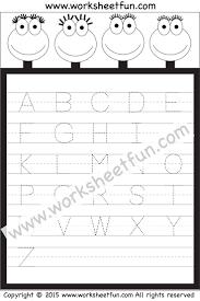 Letter Recognition Worksheets 28 Best Letter Tracing Images On Pinterest Letter Tracing