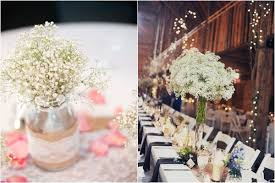baby breath centerpieces 16 unique centerpiece ideas for your reception tables wedding