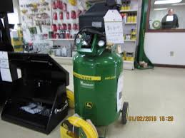 john deere hr1 20e air compressor inside greenmark equipment