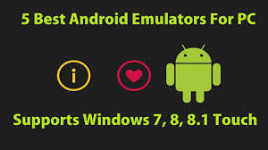android emulator windows top 5 free android emulator for windows 7 8 8 1 10