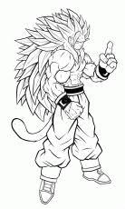 dragon ball coloring pages goku super saiyan 4 coloringpagefor
