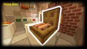 Minecraft How To Make A Furniture by Minecraft How To Make A Pizza Box Youtube