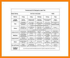 9 lesson plan format acknowledge form