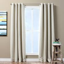 Black Out Curtain Panels Solid Textured Insulated Thermal Blackout Curtain Panel Free