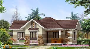 nice small house exterior kerala home design floor plans house