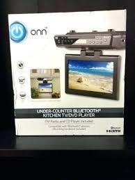 under cabinet dvd player mount gpx kitchen under cabinet radio ipod cd player snaphaven com
