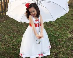 Mary Poppins Halloween Costume Kids Mary Poppins Tutu Etsy