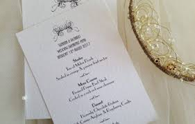 art deco wedding stationery