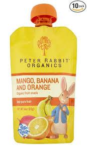rabbit organics reviews pumpkin tree rabbit organics mango banana and orange