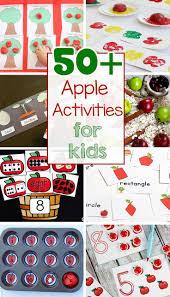 15 apple crafts and activities for kids apple activities fruit