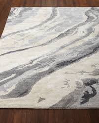 Area Rugs Gray Gray Marble Rug