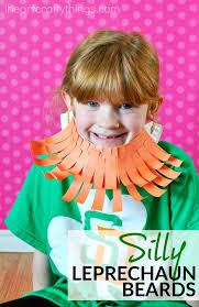 silly paper plate leprechaun beard craft i heart crafty things