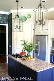 kitchen chalkboard wall ideas lanterns in the kitchen dimples and tangles