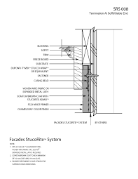 exterior wall systems one and two coat details